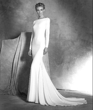 vestido de novia pronovias de segunda mano en sevilla en wallapop