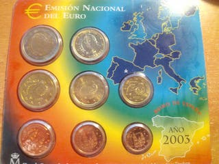 Cartera Euros 2003 España