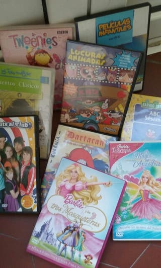 Lote DVD infantiles