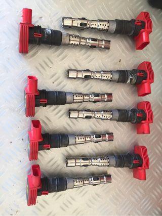 Pipas, pipetas bobinas Audi S4