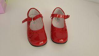Zapato charol num 24