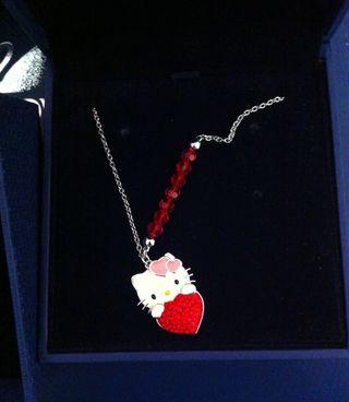 Collar De Hello Kitty Swarovski