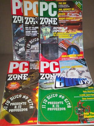 REVISTAS PC ZONE, + CD DEMOS, 1996