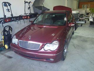 Despiece Mercedes W203