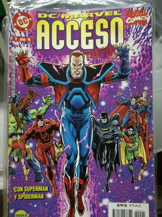 Acceso Total crossover entre Marvel.y DC