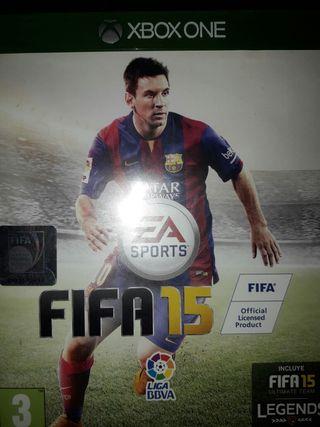 JUEGO XBOX ONE FIFA 15. 3x2