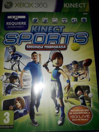 JUEGO XBOX 360 KINECT SPORTS 3x2