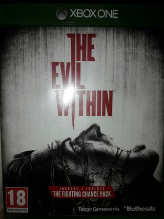 . JUEGO XBOX ONE THE EVIL WITHIN 3x2