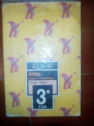 Libros ANTOS de Anaya EGB