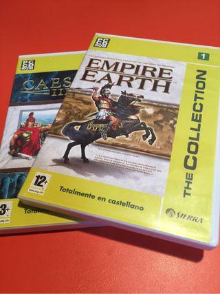 Juegos PC Estrategia (Pack de 2), usado segunda mano  España