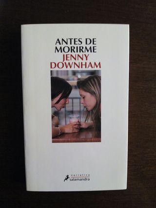 Antes de morirme, Jenny Downham