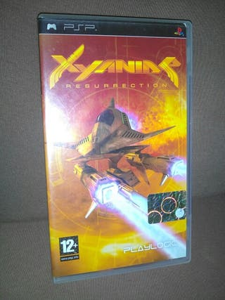 XYANIDE RESURRECTION, videojuego PSP Sony