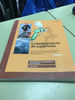 Libro embellecimiento de superficies