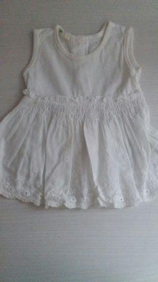 Vestido recién nacida beneton