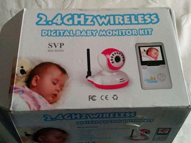Vigila bebes monitor 2,4 Ghz camara