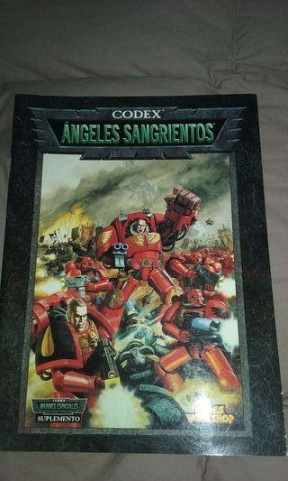 Codex Angeles Sangrientos Warhammer 40.000 40k WH40K