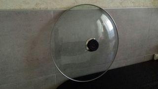 Tapa cristal 38 cms