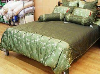 Juego de cama de seda, brocado y algodón