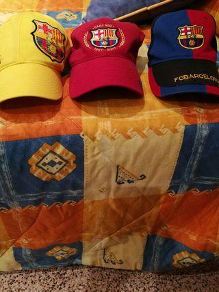 Vendo gorras del barça de niño