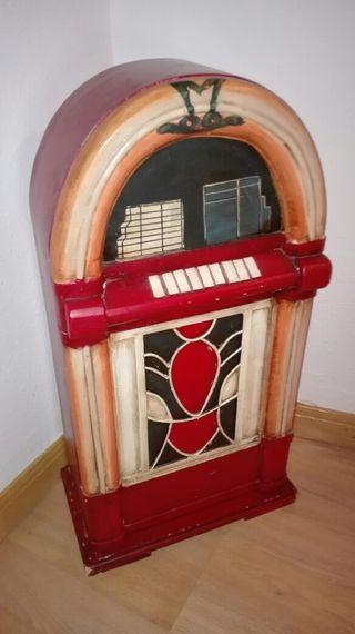 Mueble antiguo porta cds de segunda mano por 45 en for Mueble porta cd