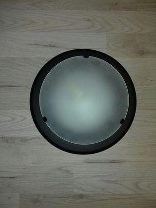 Lámpara techo negra