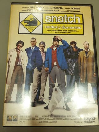 Snatch cerdos y diamantes dvd