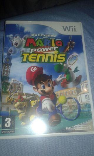 Juego Wii. Mario tennis