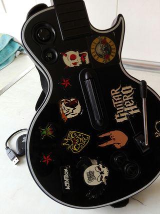 Guitar hero PlayStation 2