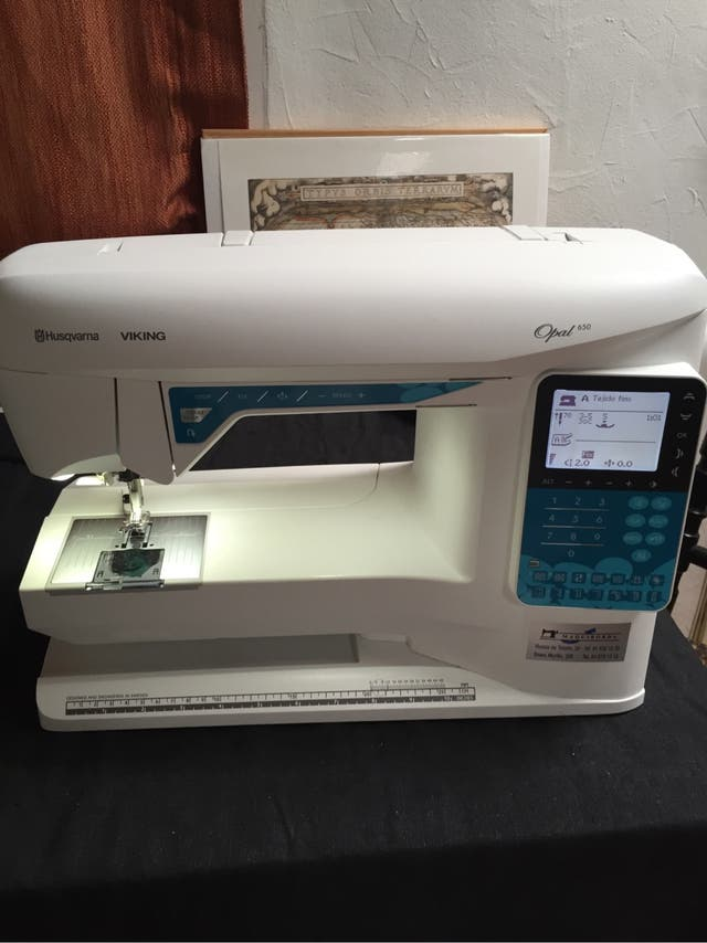 Máquina de coser husqvarna viking