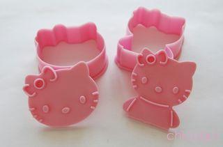 Cortadores de galletas / fondant Hello Kitty