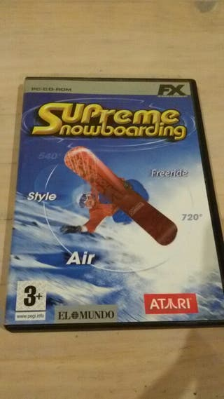 Videojuego Ordenador Snowboard
