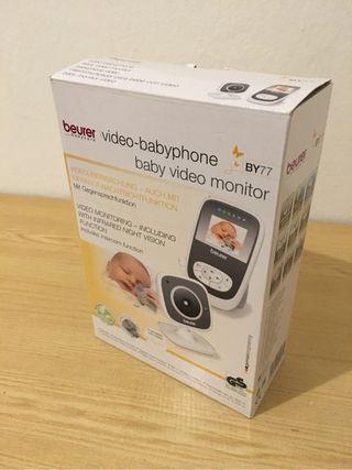 Vigila bebé con pantalla lcd y visión nocturna