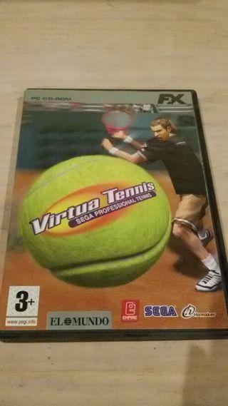 Virtua Tennis Videojuego Ordendor.