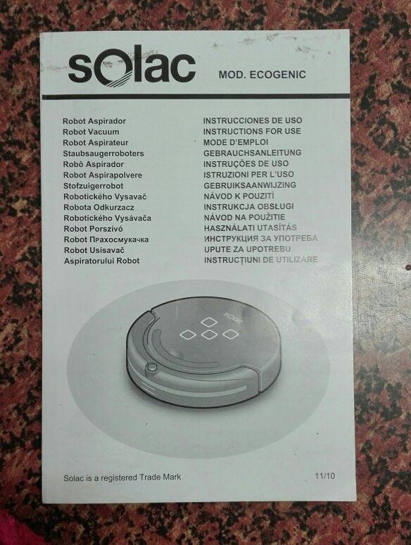 ROBOT ASPIRADOR SOLAC ECOGENIC AA3400