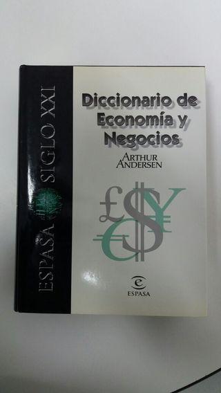 Diccionario de economía y negocios.