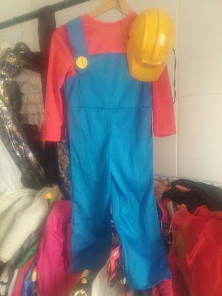 Disfraz Mario bros