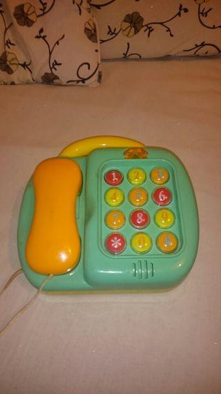 Teléfono con pizarra mágica