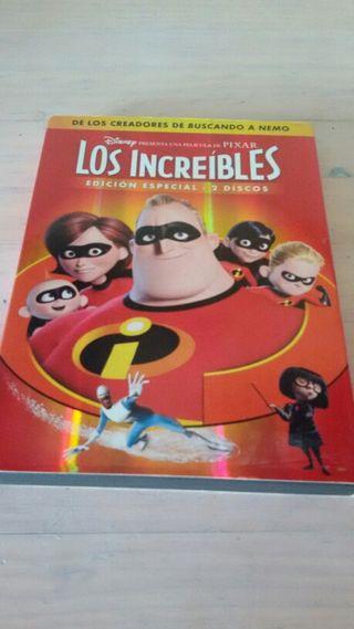 DVD Los Increibles. EDICION ESPECIAL.