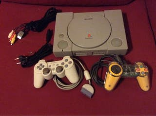 Sony Play Station 1 One Ps1 Y Juegos