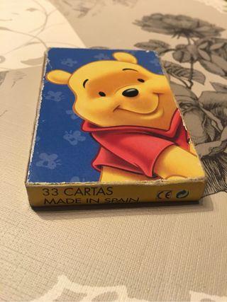 Juego cartas Winnie the Pooh