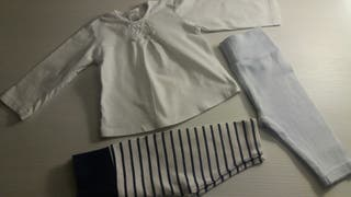 Camiseta BEBÉ más 2 mayitas cortas
