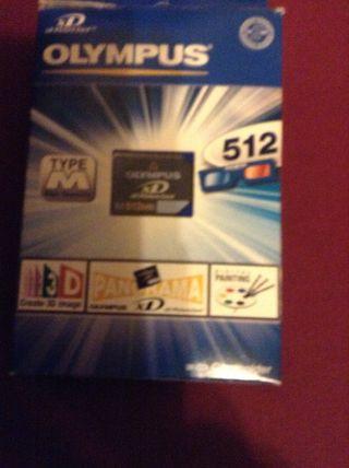 Tarjeta Xd 512MB -nueva-