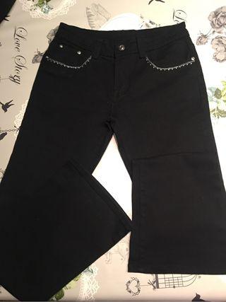 Pantalón vaquero elástico