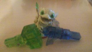 Figura y 2 trampas de poder skylanders trap team