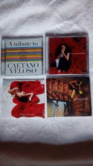 CD's Musica Popular Brasileña