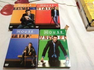 House Cuatro Primeras Temporadas