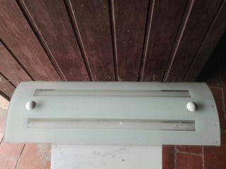 luz techo plafon largo