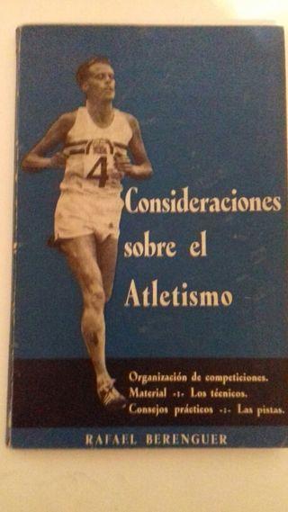 Consideraciones sobre el atletismo
