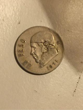 Un peso 1971