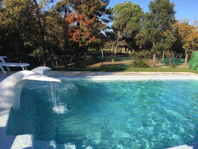 Se alquila casa con piscina privada para fines de semana y meses de verano